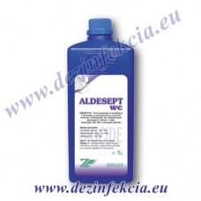 Алдесепт WC за почистване и дезинфекция на тоалетни