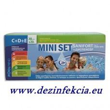 """Комплект """"Мини сет"""" за поддръжка на малки басейни - от 2 до 12 куб.м."""
