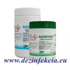 Санифорт гранули за питейна вода и вода в басейни