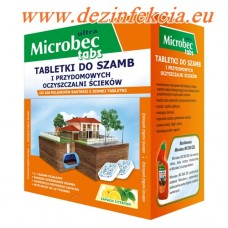 Микробец Ултра Табc е биологичен препарат за септични ями