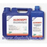 Алдесепт препарат за дезинфекция и почистване на повърхности и тъкани